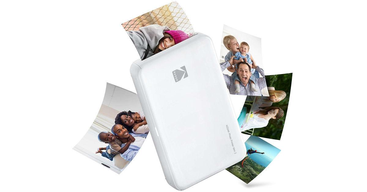 Kodak Mini Wireless Portable Instant Photo Printer ONLY $61.53