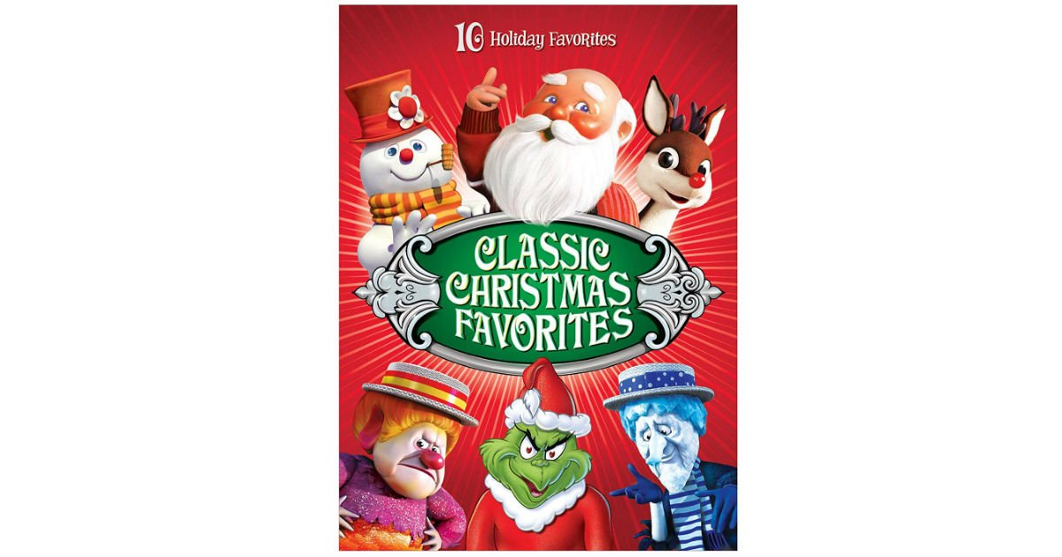 Classic Christmas Favorites DVD on Amazon