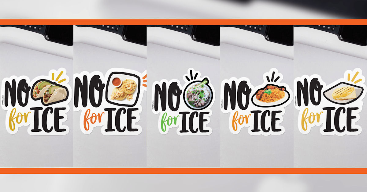 FREE No Taco for Ice Sticker..
