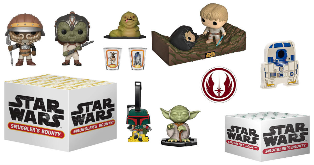 Save 68% on Funko Star Wars Smuggler's Bounty Boxes on Amazon