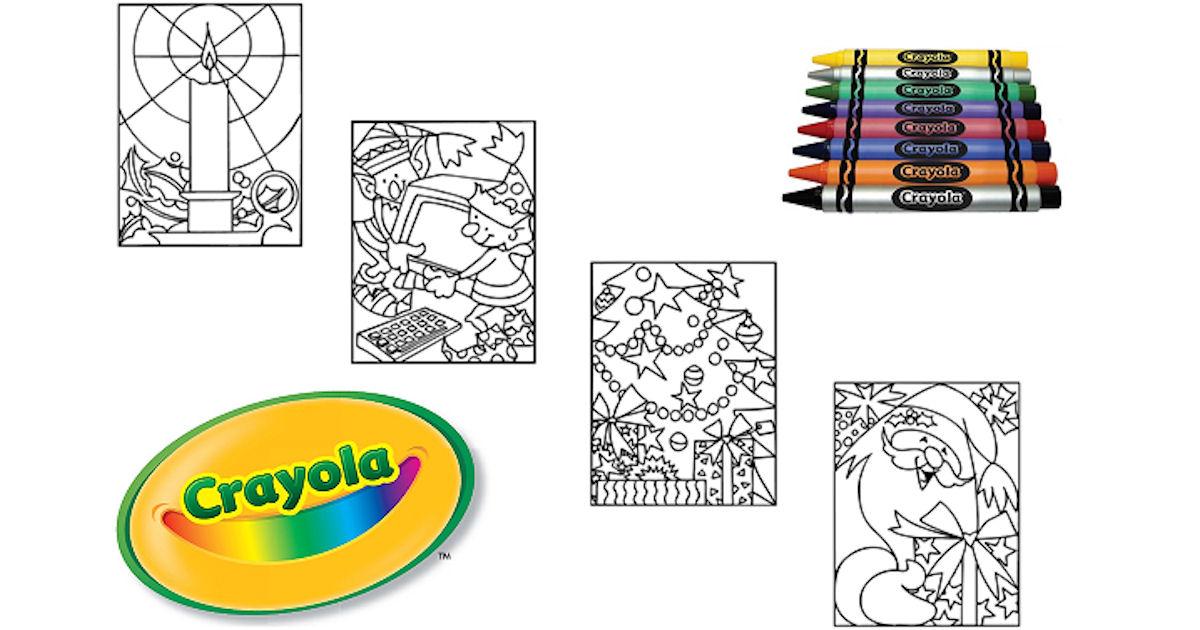 FREE Crayola Christmas Colorin...