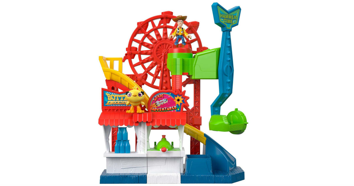Toy Story 4 Carnival Playset ONLY $16.97 (Reg. $30)