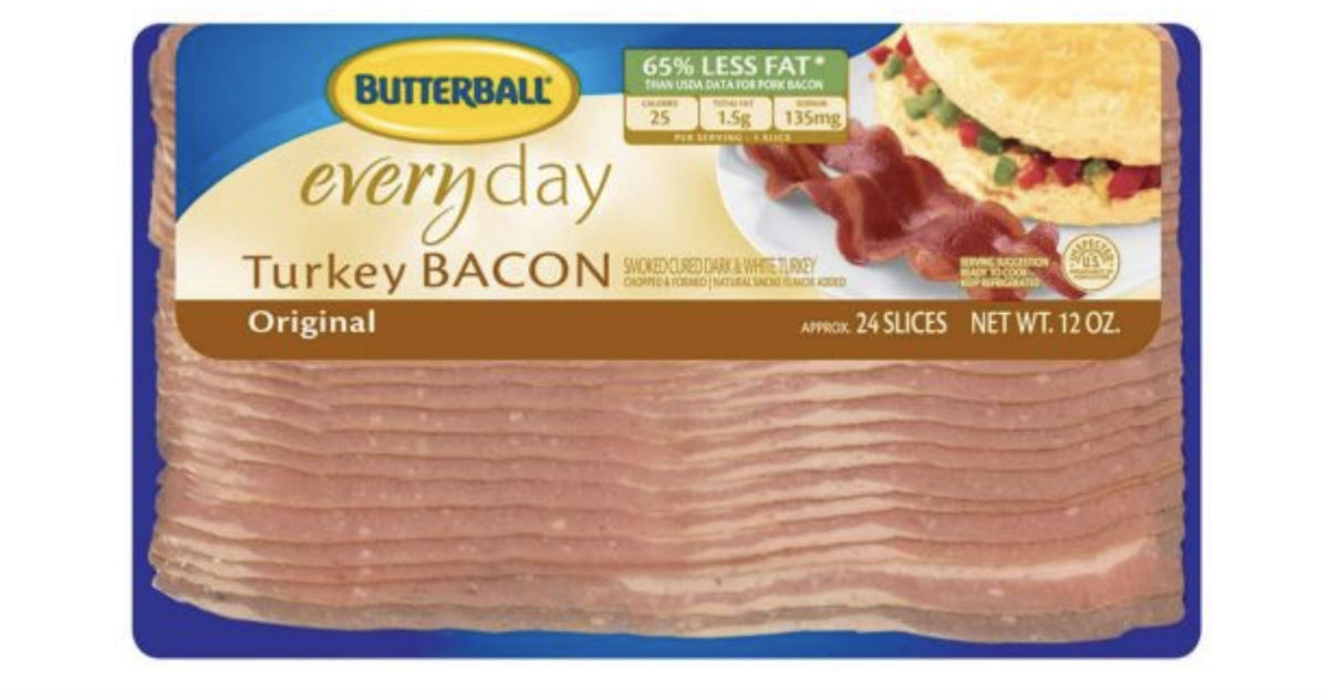 Butterball Turkey Bacon ONLY $...