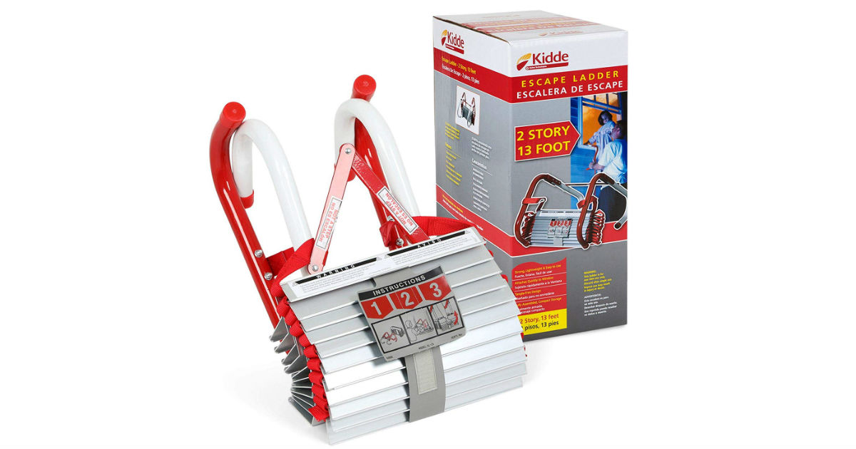 Kid Two-Story Fire Escape Ladder ONLY $28.78 (Reg. $67)
