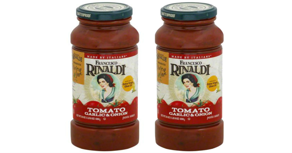 Francesco Rinaldo Pasta Sauce.