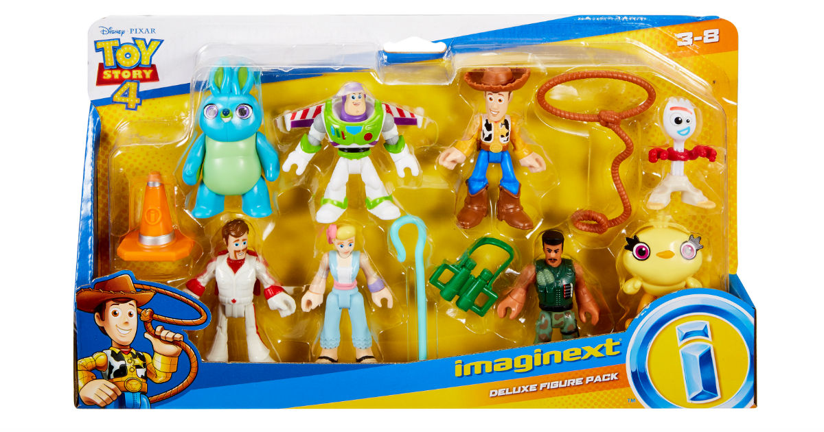 Imaginext Toy Story Deluxe Figure Pack ONLY $14.97 (Reg $20)