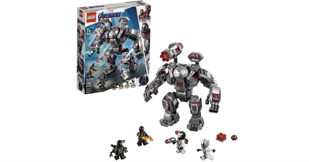 LEGO Marvel Avengers War Machi...