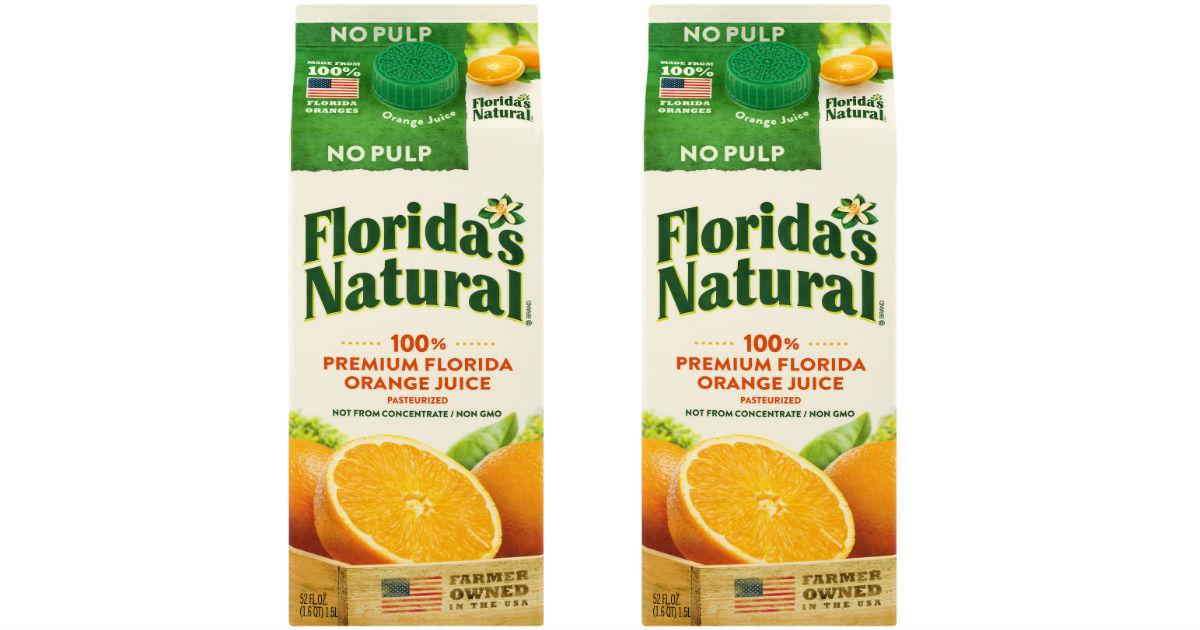 Florida's Orange Juice ONLY $1...