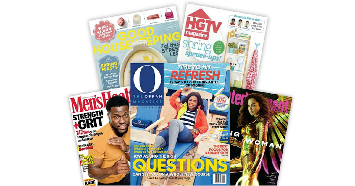 FREE Magazine Subscription - A...