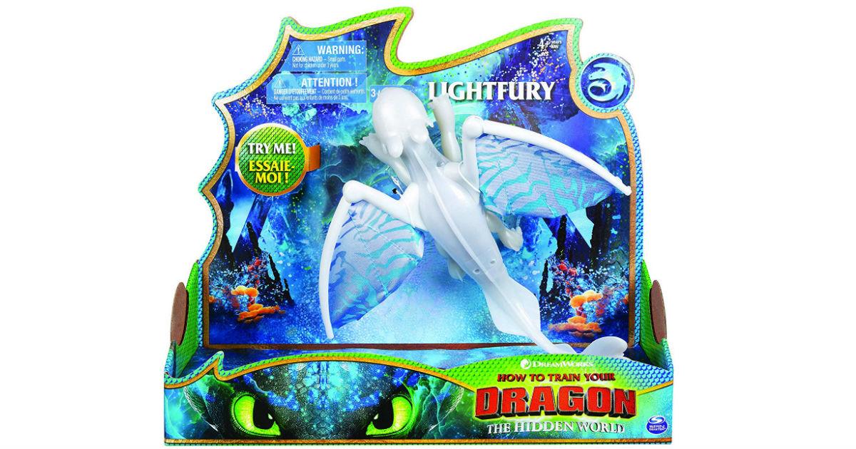 Dreamworks Dragons Lightfury Deluxe Dragon ONLY $6.99 (Reg $20)