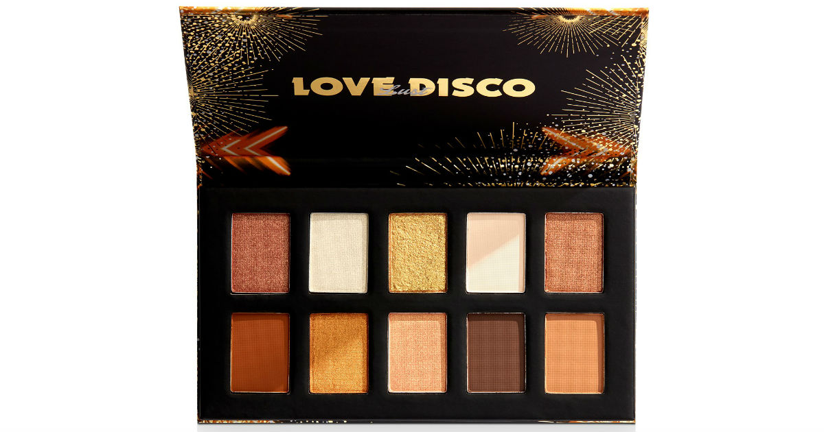 NYX Professional Makeup Love Lust Disco Shadow Palette ONLY $10