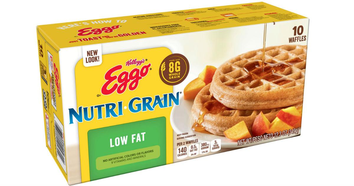 Eggo Nutri-Grain Waffles ONLY.