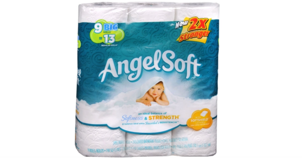 Angel Soft Toilet Paper 12-Rolls ONLY $3.99 at Walgreens