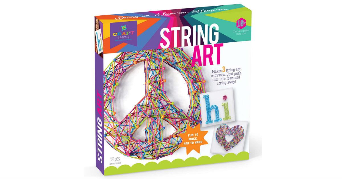 Craft-tastic String Art Kit ONLY $10.04 (Reg. $20)