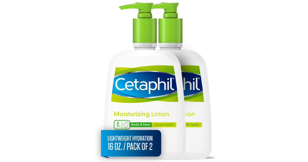 Cetaphil Moisturizing Lotion 2-Pack ONLY $10.24 Shipped