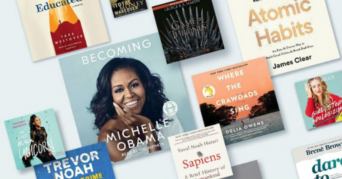 FREE $20 Amazon Credit by Listening to 3 Audible Audiobooks