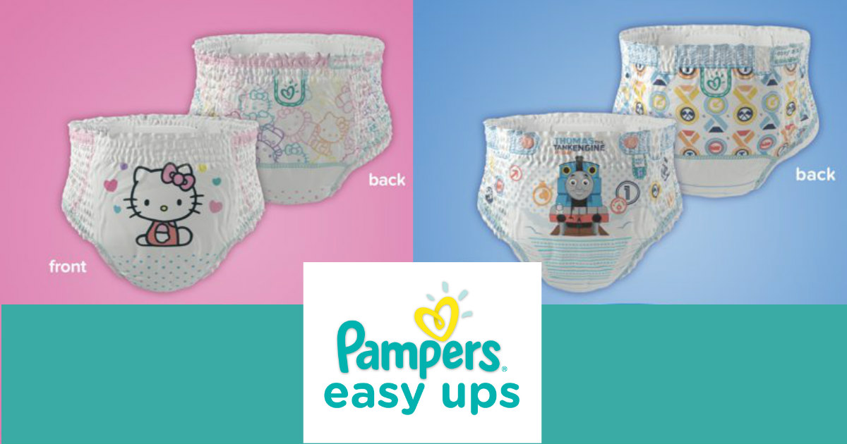 Pamper's Easy Ups