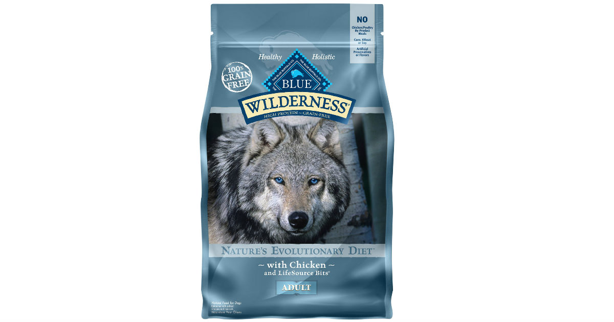 Blue Buffalo Dog Food 6 lb ONLY $9.49 at Target (Reg $15.99)