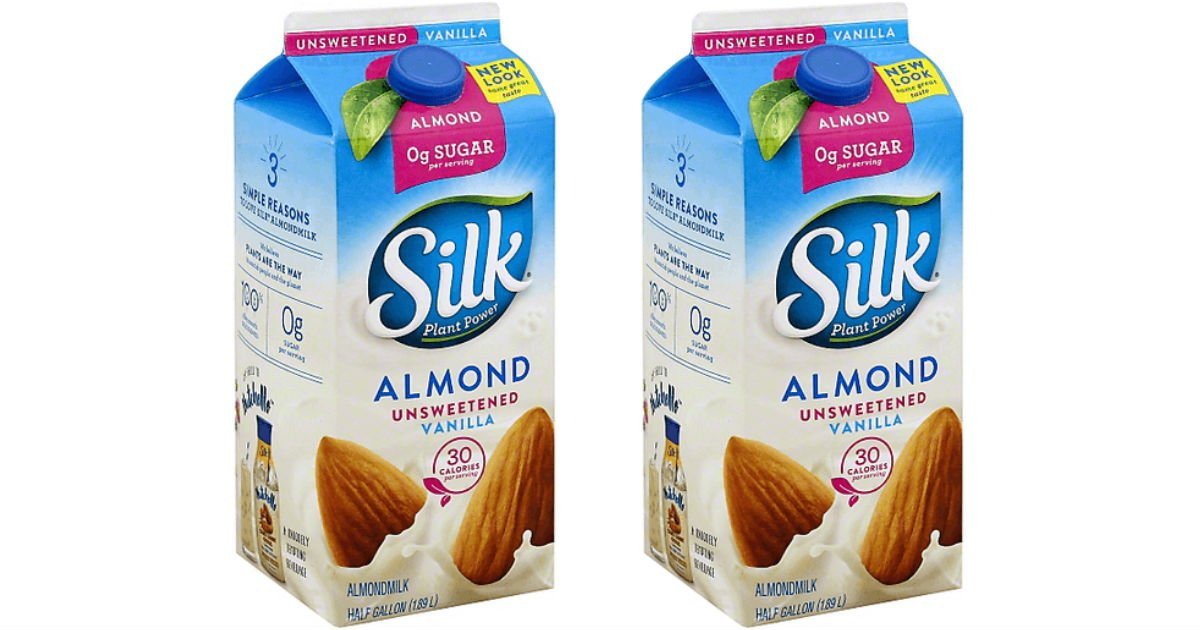 Silk Almondmilk 64-oz ONLY $2.