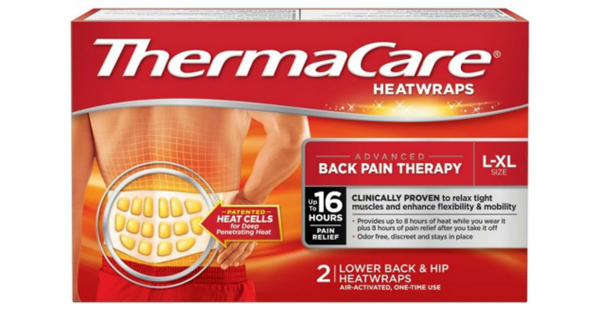ThermaCare HeatWraps at CVS