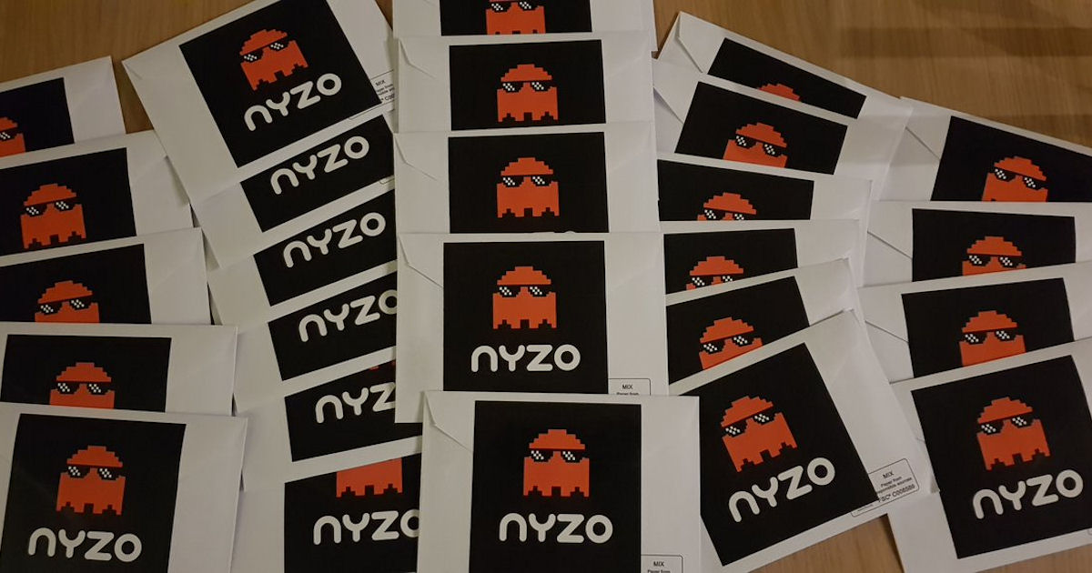 FREE NYZO Stickers...