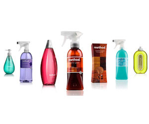 Coupons method cleaning products