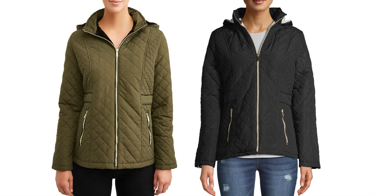 Big Chill Women's Hooded Quilted Jacket ONLY $11.99 (Reg $33)