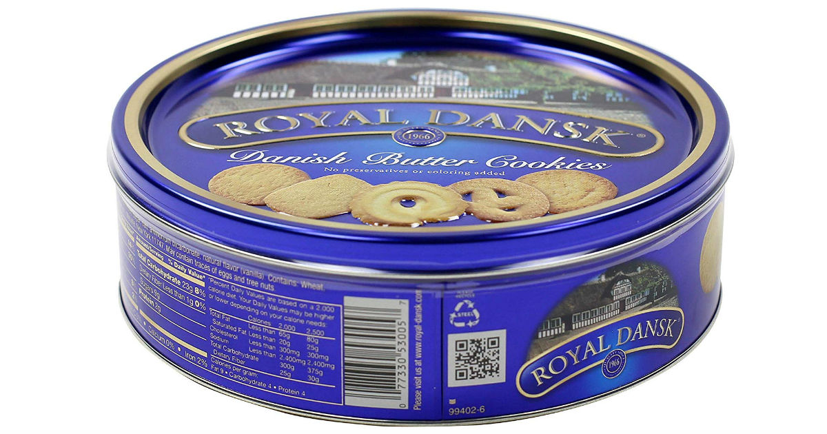 Royal Dansk Danish Cookie Selection ONLY $2.78 Shipped