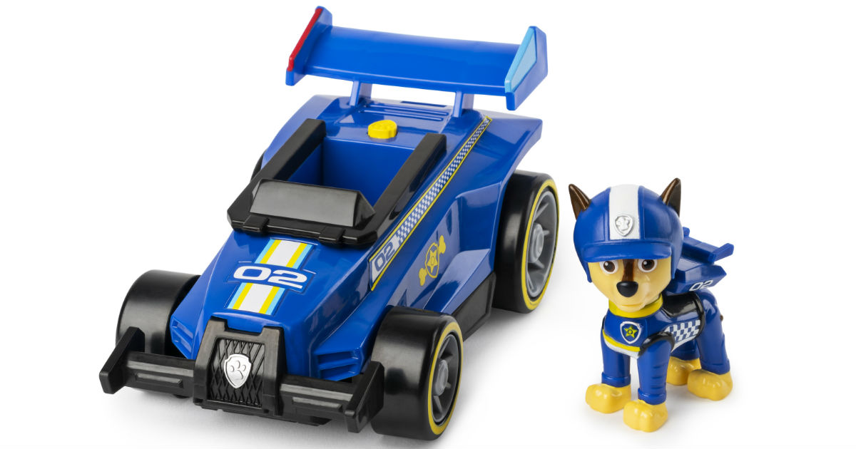 Paw Patrol Race & Go Deluxe Vehicle ONLY $7.99 at Walmart