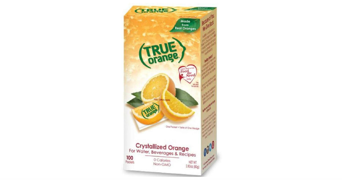 True Orange 100-Count ONLY $4.39 Shipped