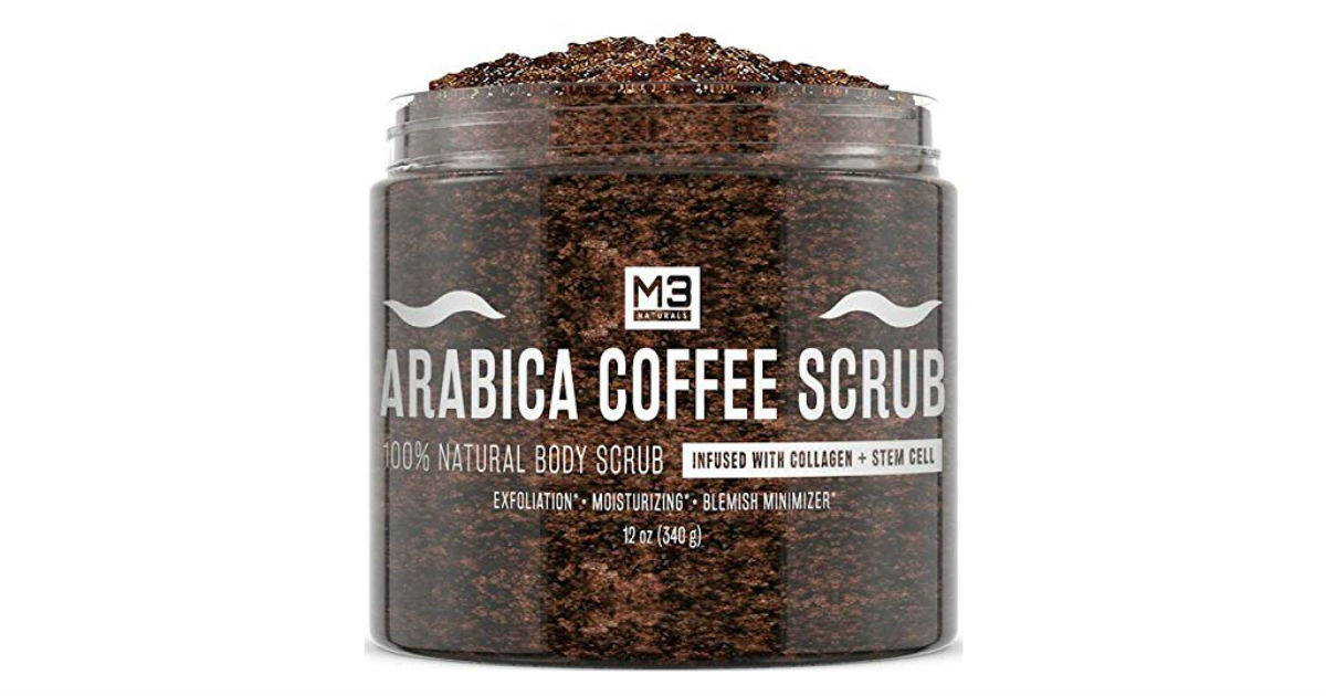 M3 Naturals Arabica Coffee Scrub ONLY $15.20 (Reg. $35)