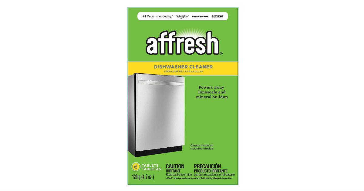 Affresh Dishwasher Cleaner ONLY $3.52 (Reg. $6)