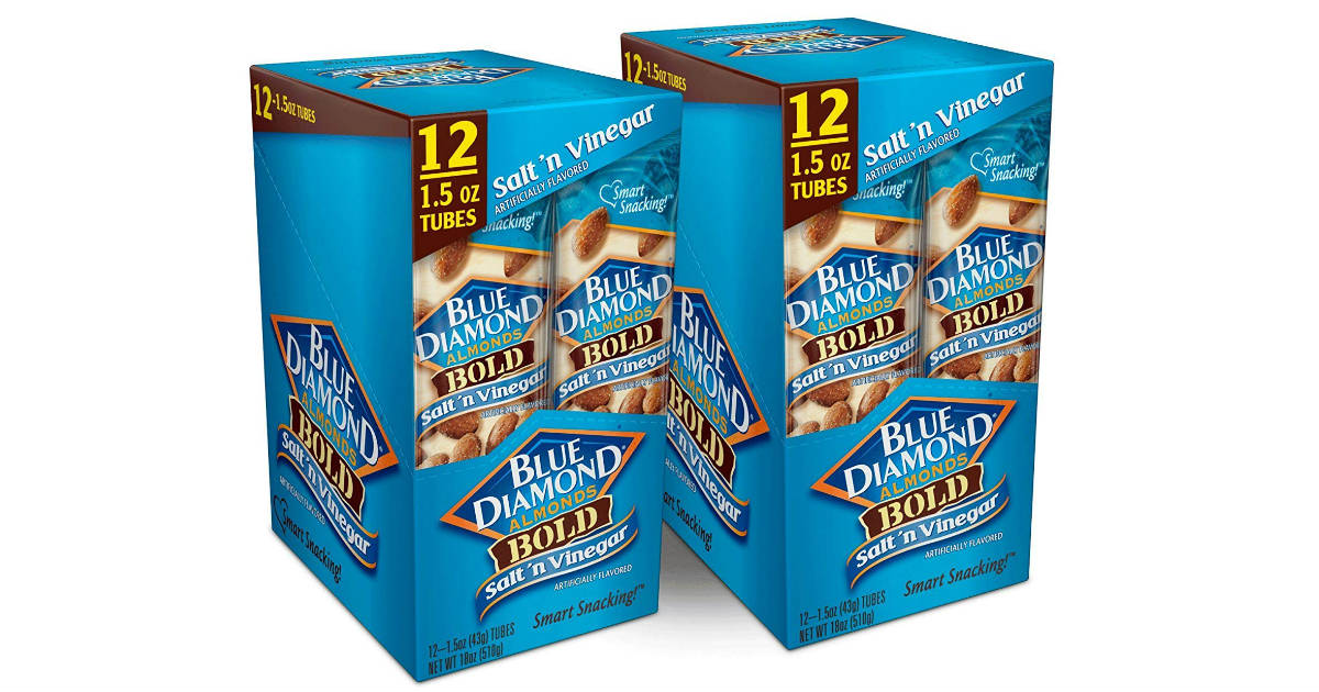 Blue Diamond Almonds Bold 24-Pack ONLY $10.62 Shipped