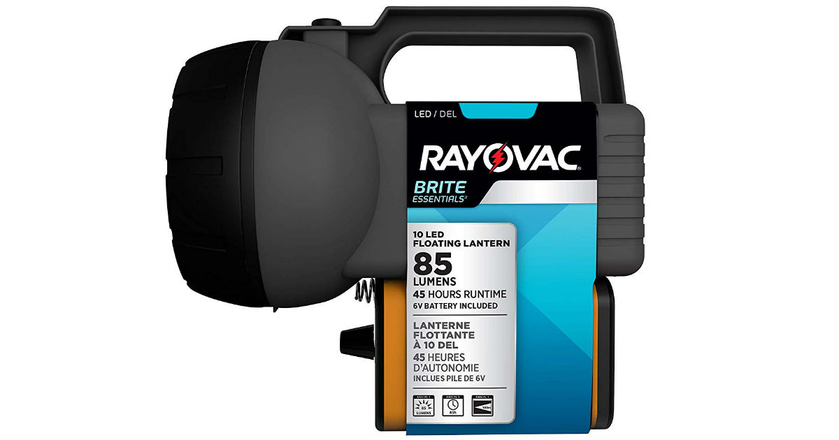 Rayovac 10 LED Lantern w/ Battery Included ONLY $4.92 (Reg $11)