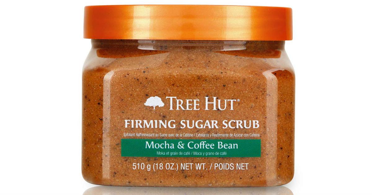 Tree Hut Sugar Scrub Mocha & Coffee Bean ONLY $2.85 Shipped