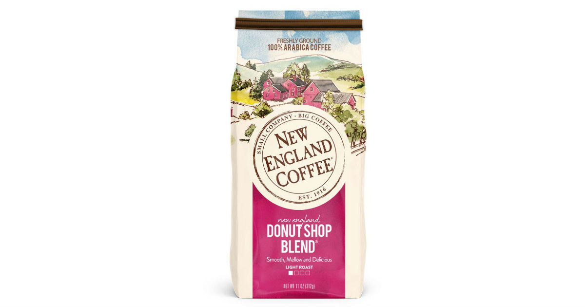 New England Ground Coffee ONLY $3.64 Shipped