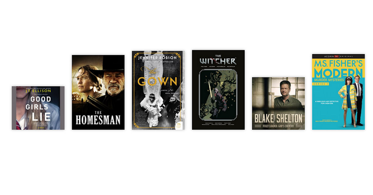 Stream Movies Music Audiobooks...