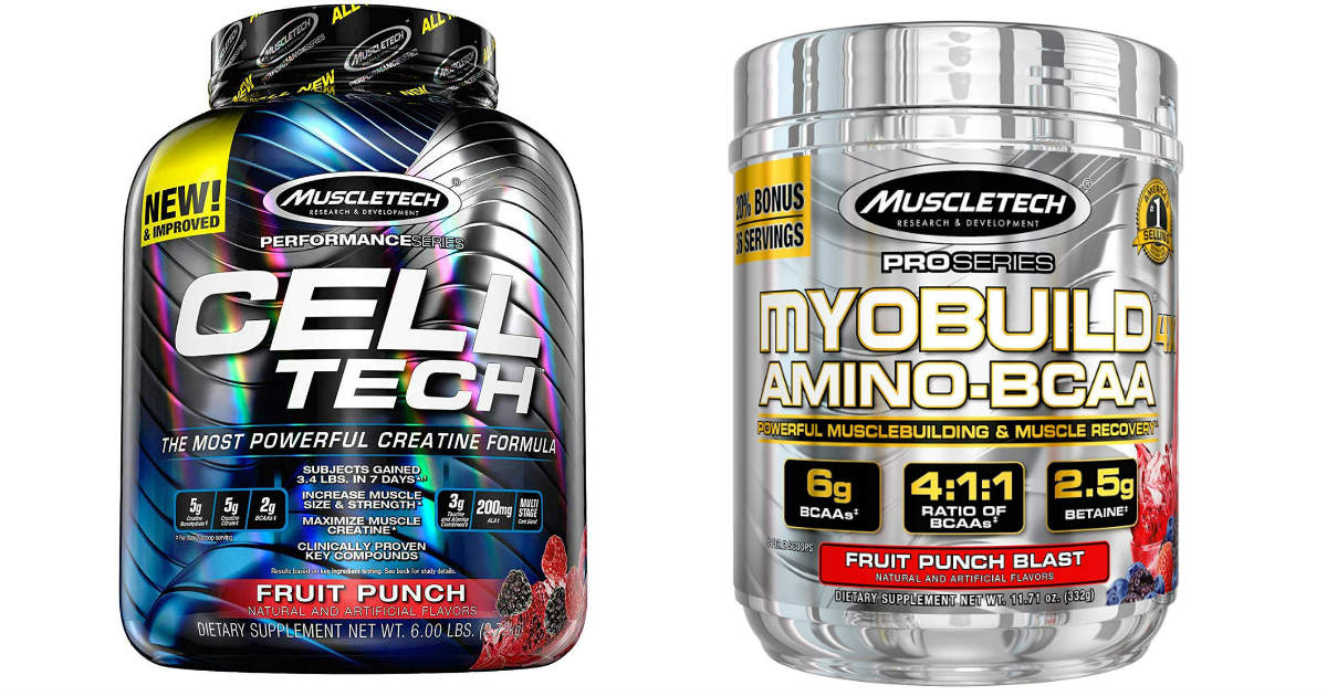 Today Only: Save up to 64% on MuscleTech Products