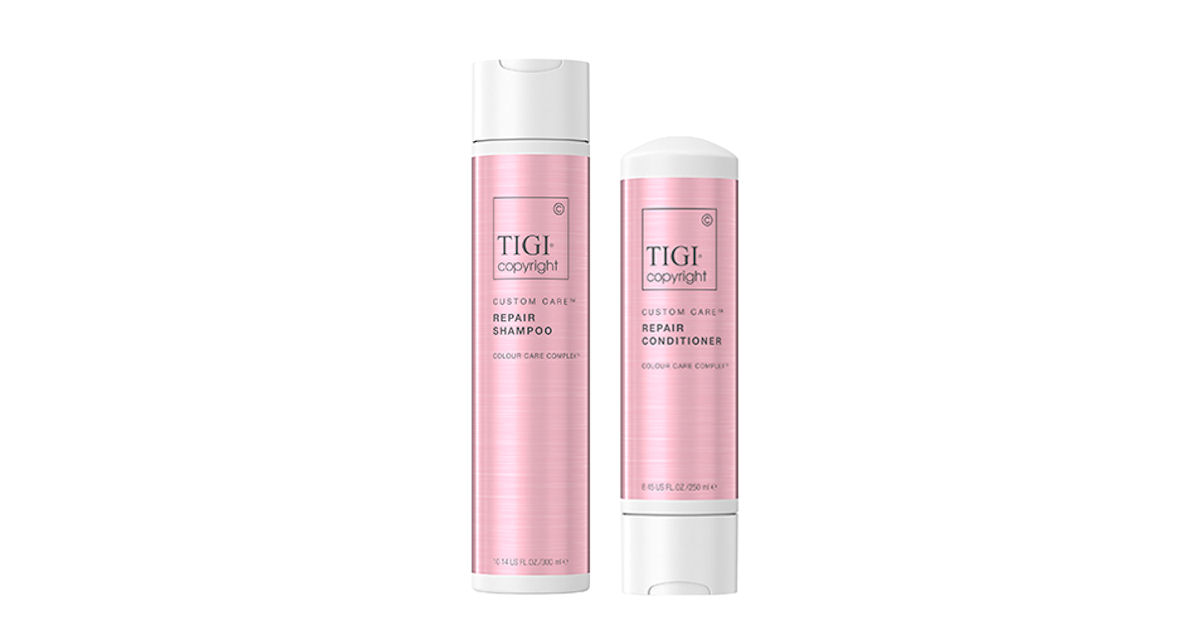 FREE TIGI Copyright Hair Care.