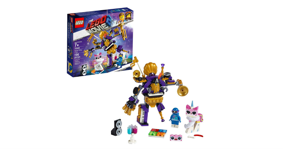 LEGO MOVIE 2 Systar Party Crew ONLY $11.99 (Reg. $20)