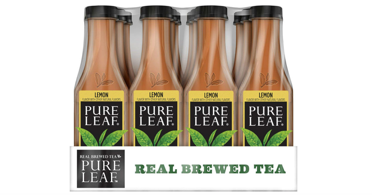 Pure Leaf Lemon Iced Tea 12-Pack Only $7.77 Shipped