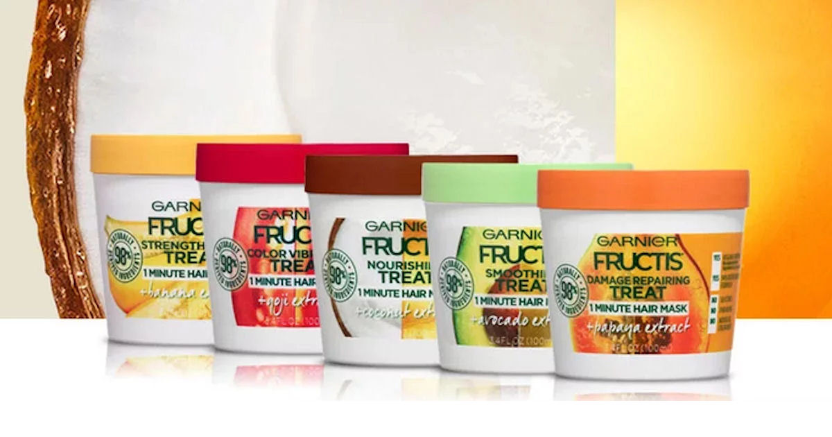 FREE Sample of Garnier Fructis Hair Treats Masks