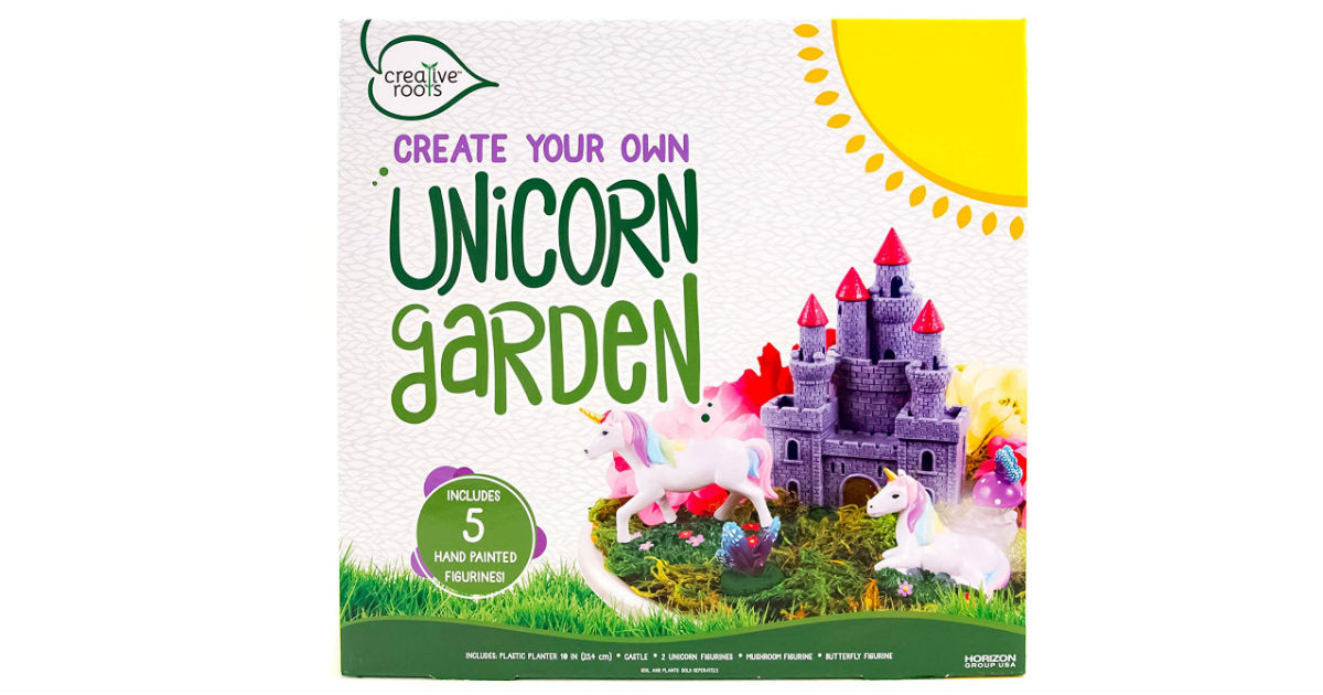 Create Your Own Unicorn Garden ONLY $10.46 (Reg. $25)