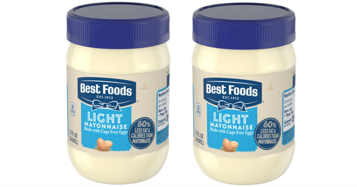 Best Foods Light Mayonnaise ONLY $2.77 at Walmart