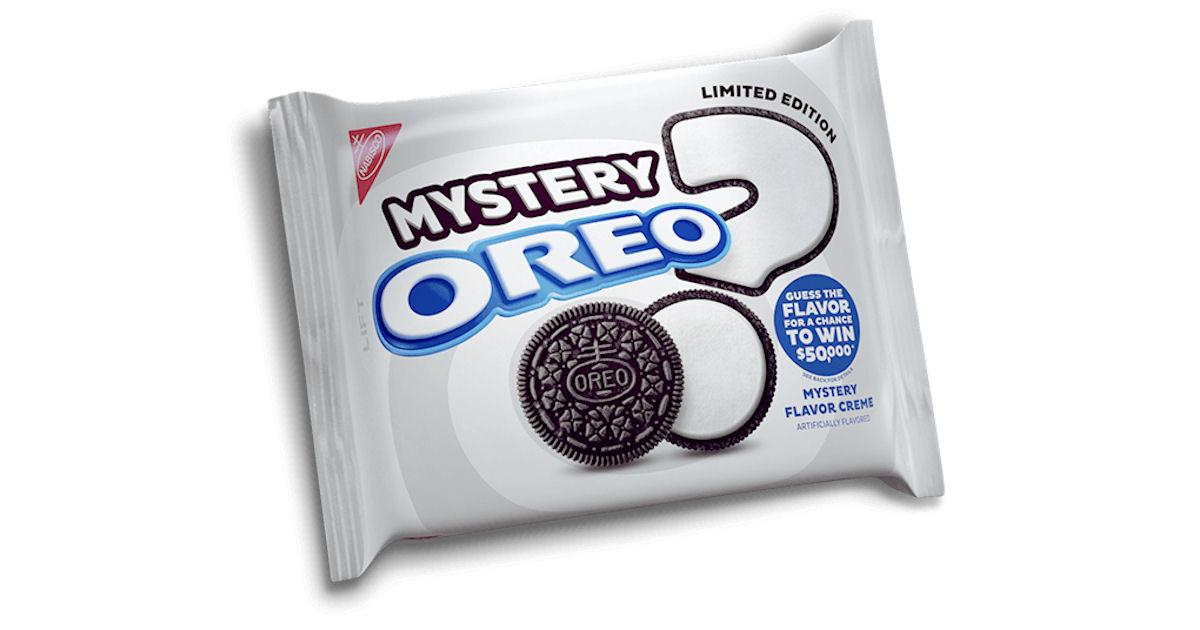 FREE Oreo Mystery Flavor at Wa...