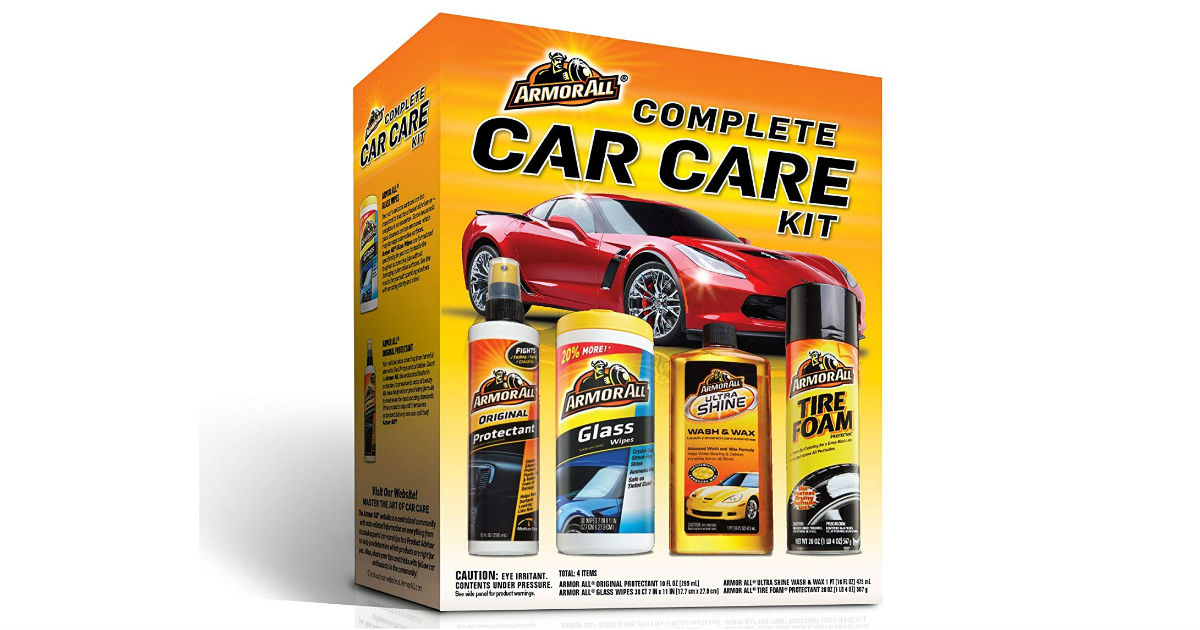 Armor All Complete Car Care Kit on Amazon