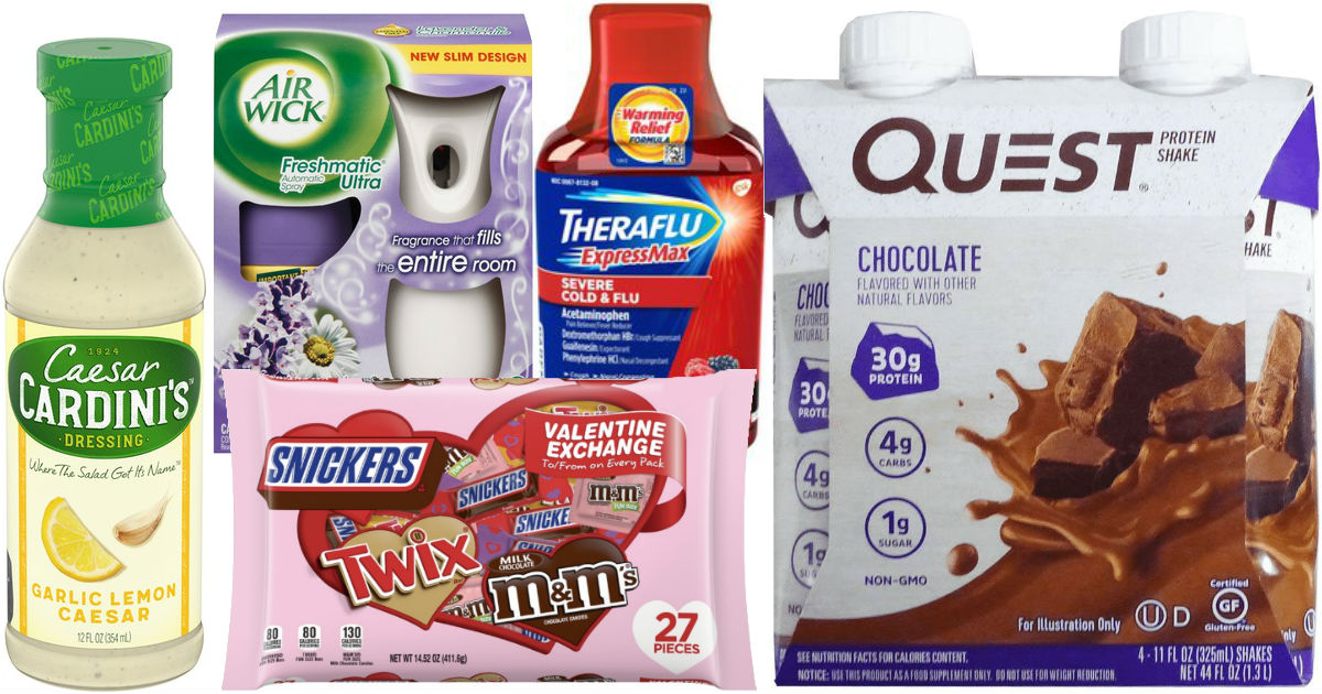 Over $41 in New Coupons to Print - Lots of Favorite Brands