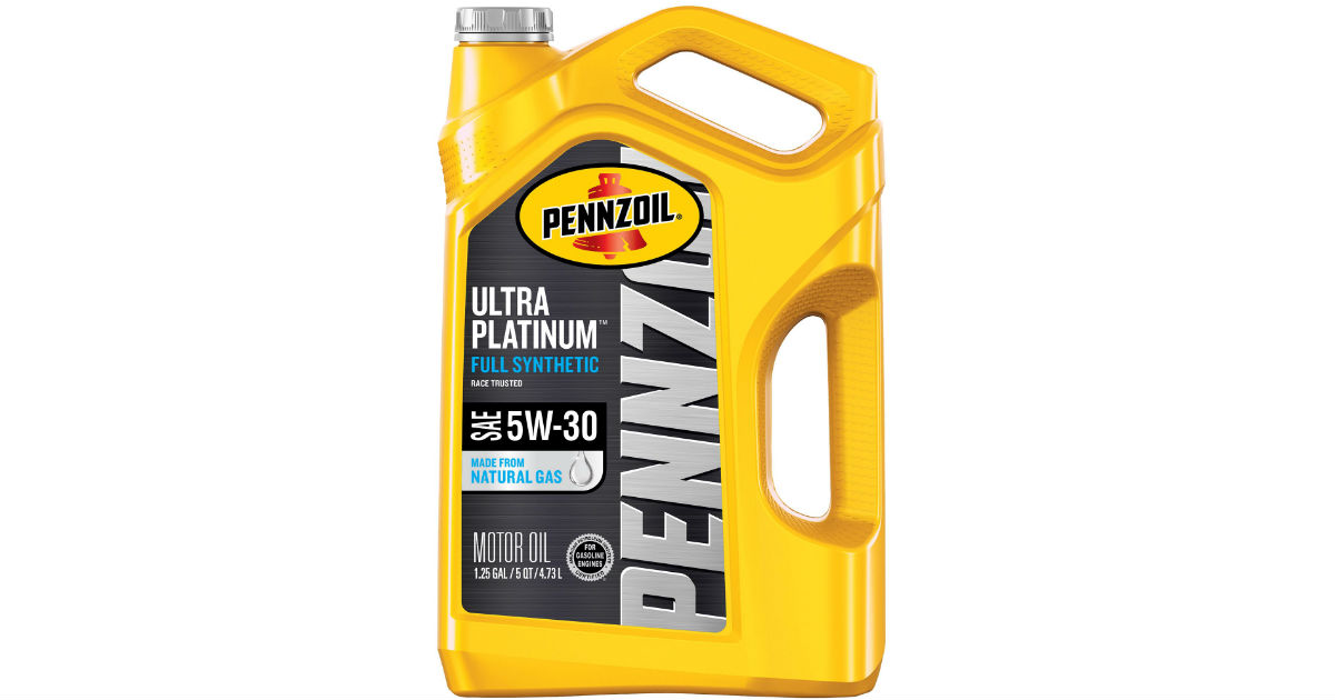 Pennzoil Motor Oil at Walmart