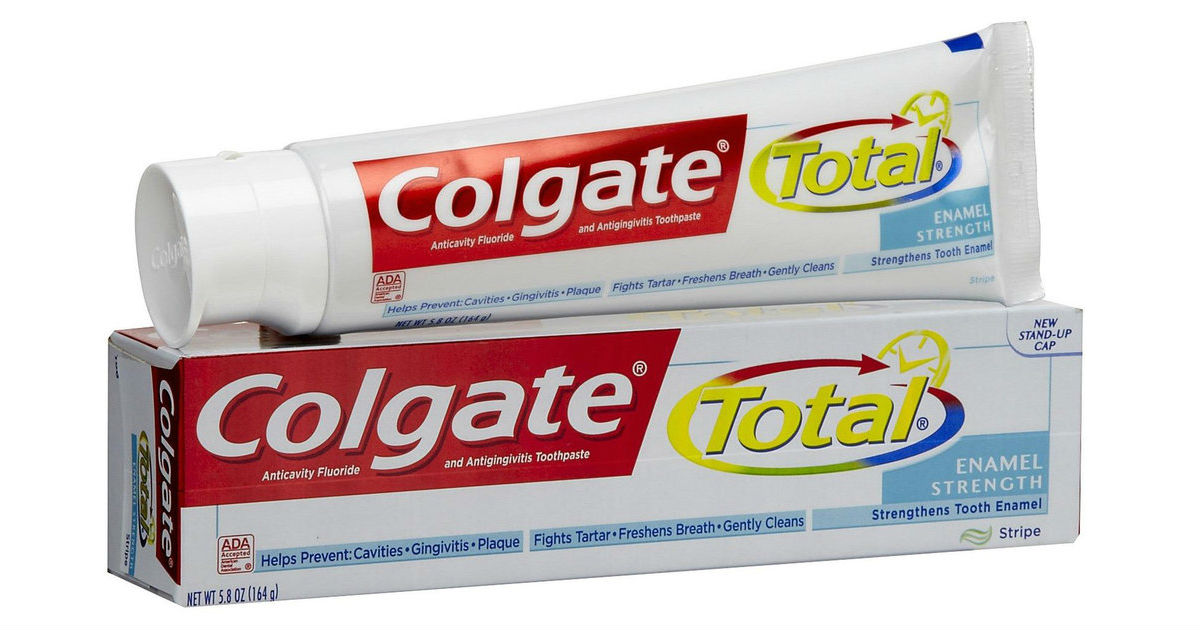 Colgate Total Toothpaste ONLY $0.99 After Rewards at Walgreens