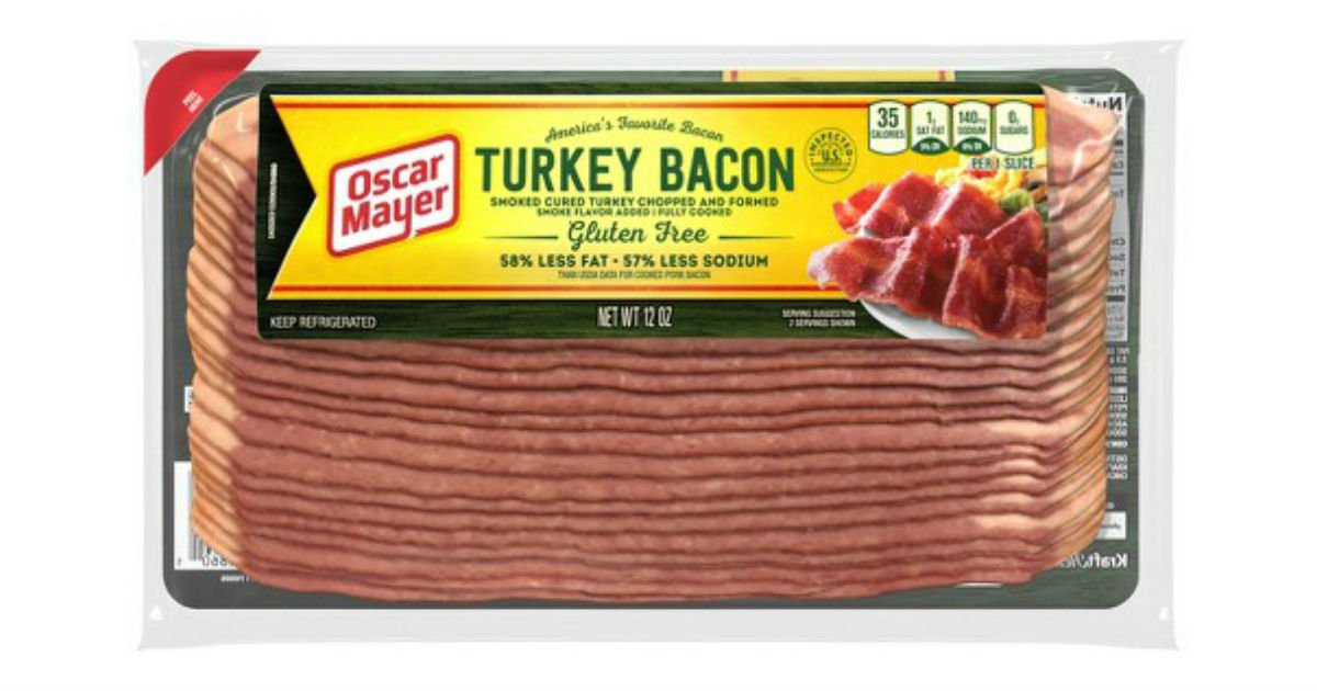 Oscar Mayer Turkey Bacon ONLY $1.61 at Walmart